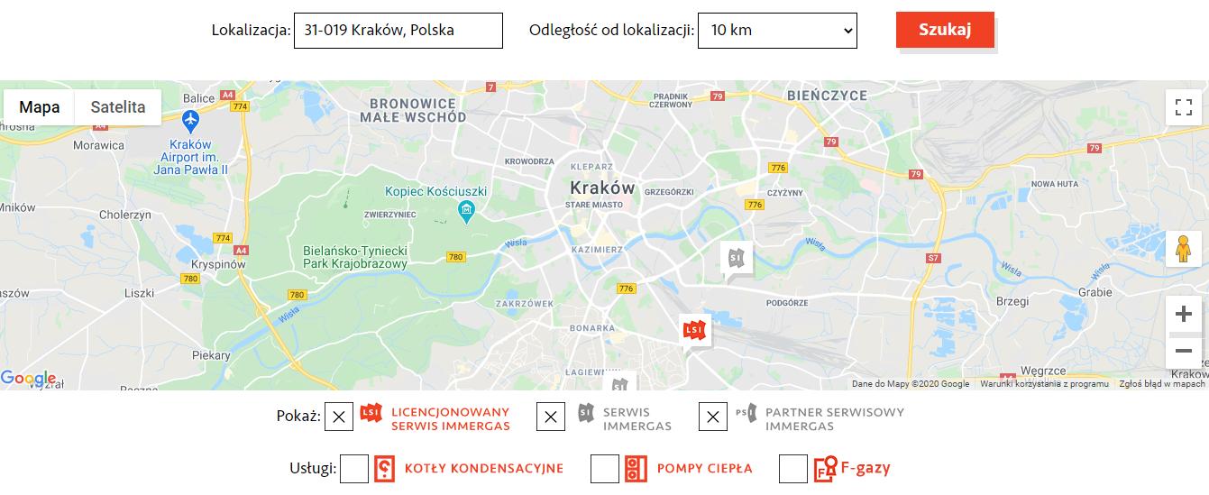 Serwis Immergas Kraków